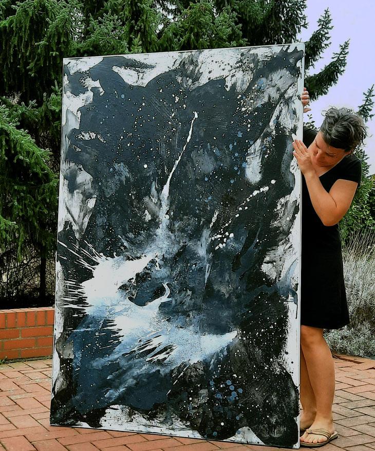 Eingebung 1 - 180 x 120 cm