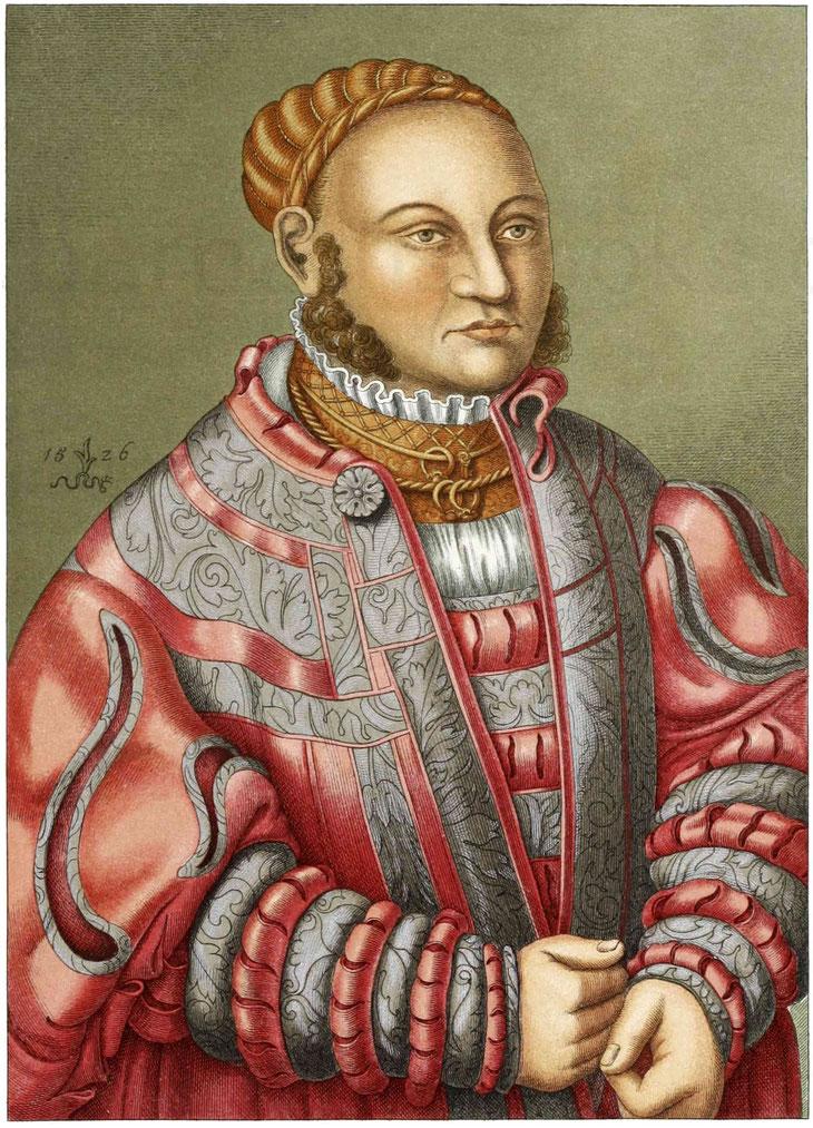 Männertracht von 1526