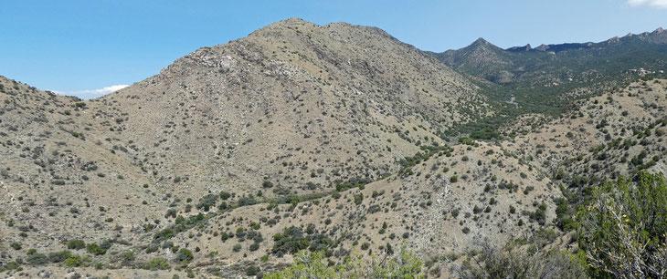 Juan Tabo Canyon, Sandia Mountains, Cibola National Forest, New Mexico