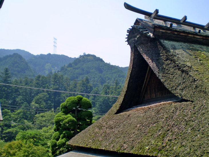 Toit de la Brasserie de saké Sawanoi  credit photo 2007©Marj'