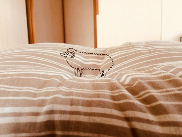 電気毛布を使わずとも、とても暖かい敷き布団。ふとんとしてはもちろん、たたみ・すのこベッドにも。