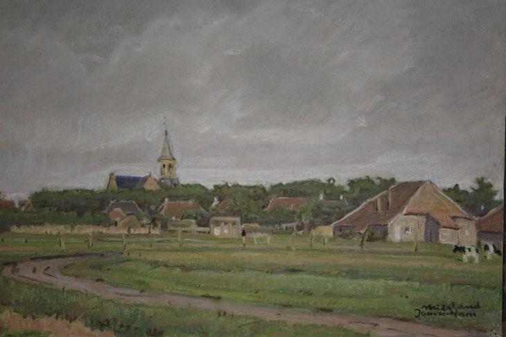 te_koop_aangeboden_een_gouache_van_jan_van_ham_1892-1989