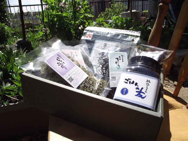 宮城県塩釜市「今野商店」のカーボン・オフセット商品を詰合せました。(3,500円)