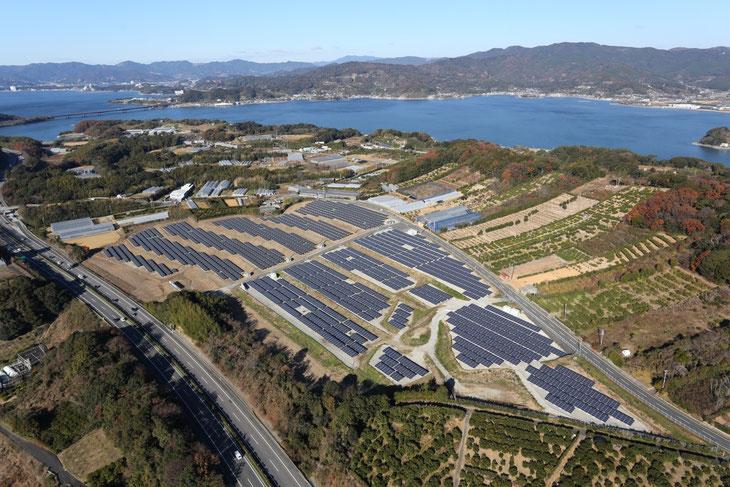 浜松・浜名湖太陽光発電所(西区呉松町)太陽光発電2MW+1.5MW