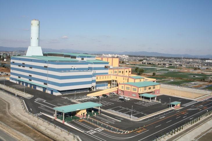 浜松市西部清掃工場(西区篠原町)バイオマス発電9.6MW