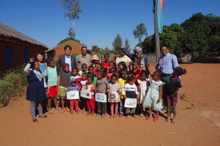 里山エネルギースクールの立ち上げを支援していただいた「チーム・マダガスカル」の皆さまありがとうございます!