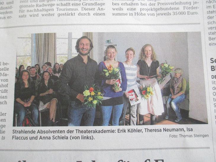 Leipziger Volkszeitung 2014