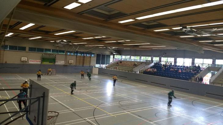 Die Spielstätte der Langenfeld Devils