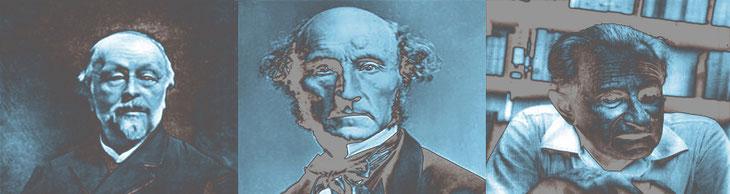 Hippolyte Taine, John Mill, Herbert Marcuse