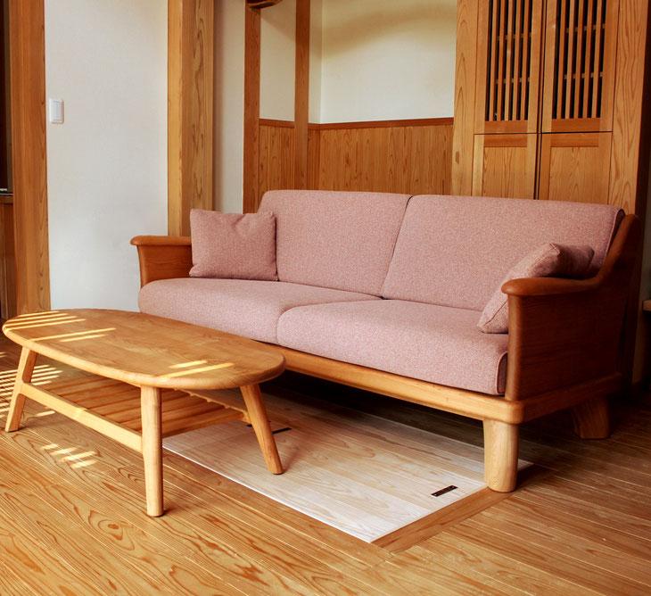 ソファ(千葉市・K様邸)