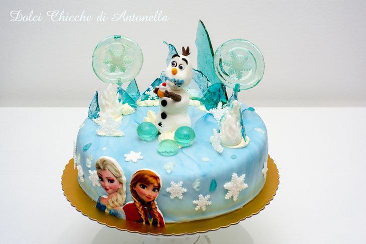 frozen- cake- torta- dolci decorati- cake design- la spezia- compleanni- party- eventi