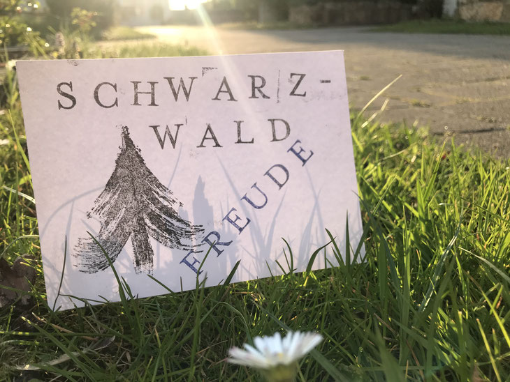 Postkarte Schwarzwaldfreude