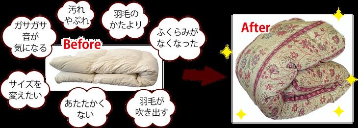 羽毛ふとんリフォーム / 和多屋ふとん店