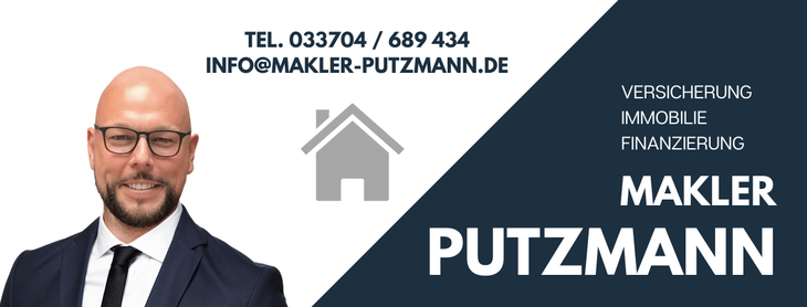 Makler Putzmann - Telefon 033704 / 689 434