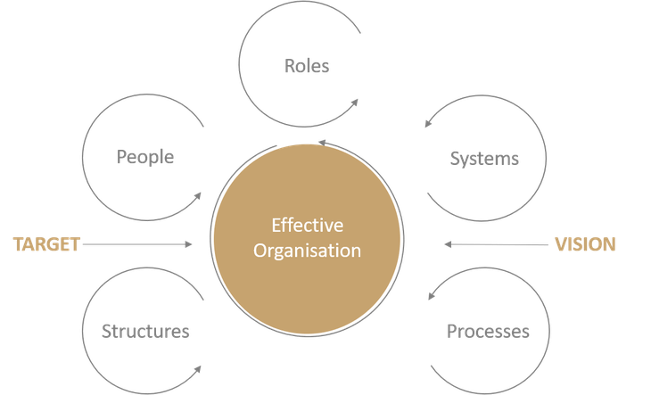CONBEN consulting concept for effective organisational development