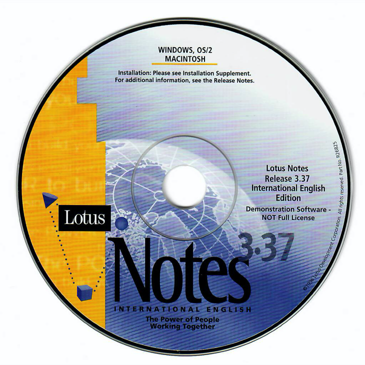 Notes Version 3.3.7 auf CD-ROM