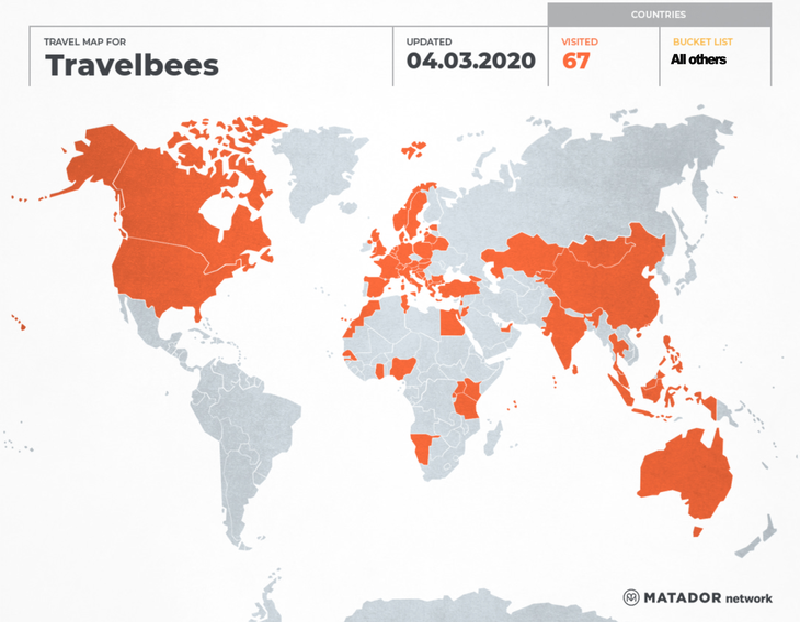 Travelbees worldtrip