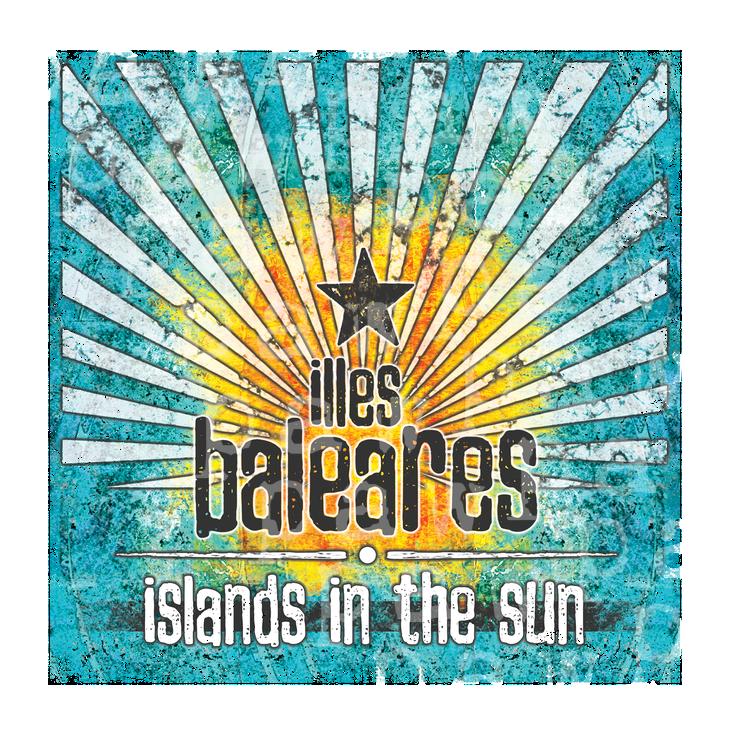 Illes Baleares - islands vintage - das Shirt für alle Ibiza Liebhaber!Balearen, ibiza, Trip, sommer, sonnenschein, Spanien, spirit, balearen, Sonne, Vintage, stylish, strand, menorca, meer, formentera, mallorca, reise, flow, party, fun, ethno,