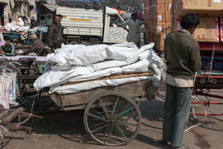 La cariole postale de Jaipur