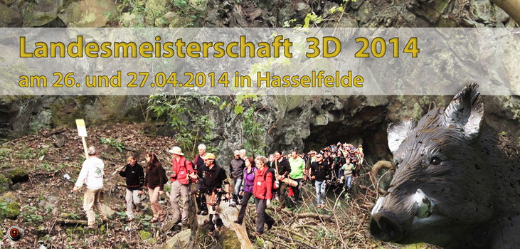 Fotomontage - LM 3D am 26./ 27.04.2014 in Hasselfelde