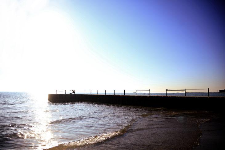 Rogers Park beach