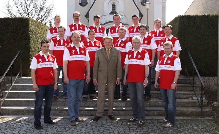 Der Festauschuss mit Schirmherr Loibl Josef.