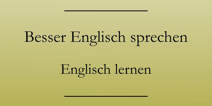 Besser Englisch sprechen