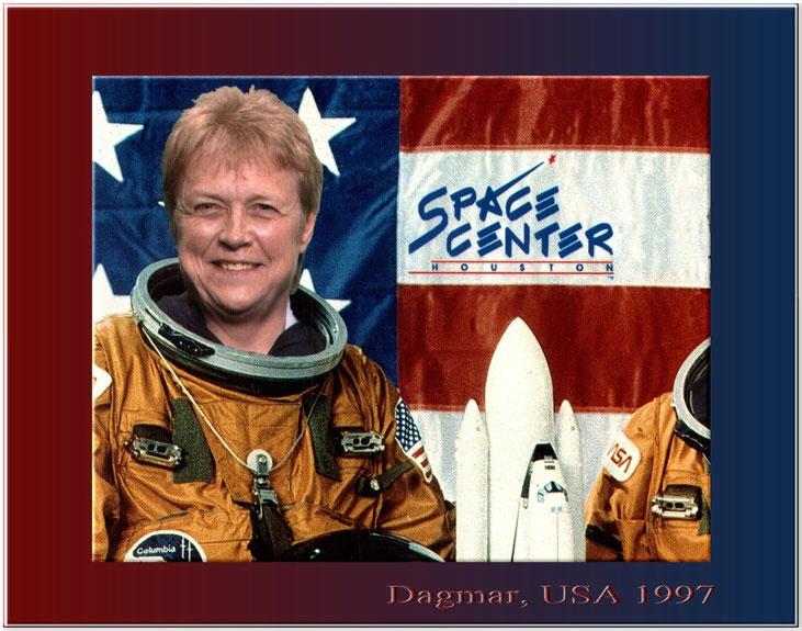 Dagmar, USA 1997 ... das waren noch Zeiten :-))