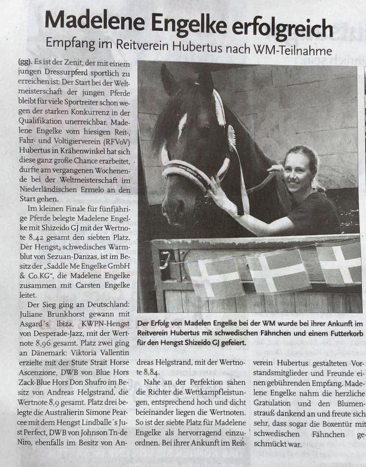 Quelle: Echo Langenhagen Ausgabe 11.08.2018