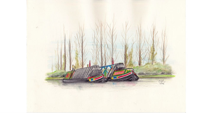 Martin Engewicht | Narrowboat Anslow