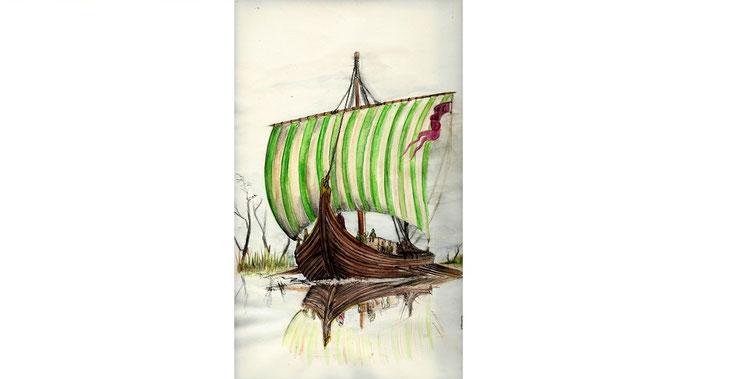 Martin Engewicht | Wikingerschiff