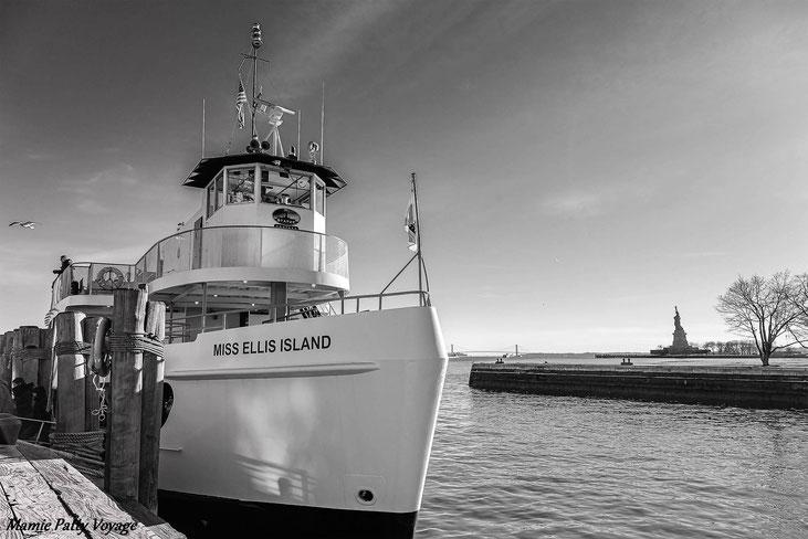 Embarcadère d'Ellis Island, New York