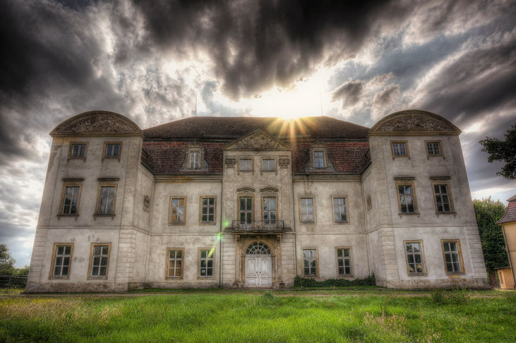 Baroque Castle in Eastern Germany