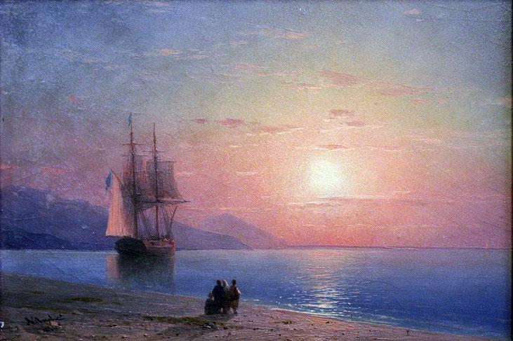 "Ivan Konstantinovič Ajvazovskij, ""Marina"" (1864)"