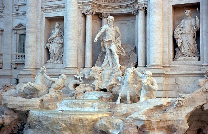 Analogue Photo | Trevi Fountain