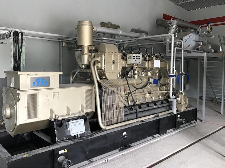 Generador a biogás - Aqualimpia Engineering - Alemania