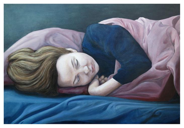 """Séverine"" * Öl auf Leinwand * 80 x 120 cm * 2016"