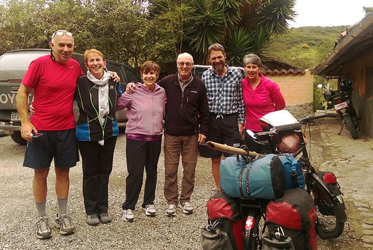 Liebe Freunde in der Hosteria Izhcayluma, vielen Dank für die unterhaltsamen Stunden, wir haben es sehr genossen!