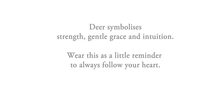 Deer symbolises intuition