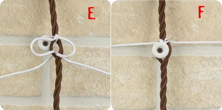 legatura cavi di seta cotone isolatori ceramica cavi a treccia fili intrecciati
