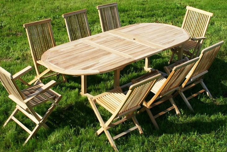tavolo teak arredo esterno giardino outdoor