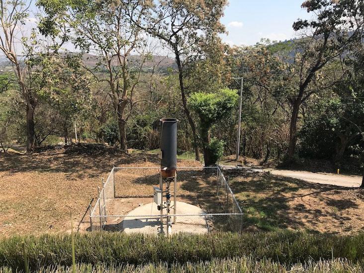 Antorchas biogas  - Flares biogas - Antorcha para quemar hasta 250 m3/h de biogás - Aqualimpia Engineering e.K. - biogas flare