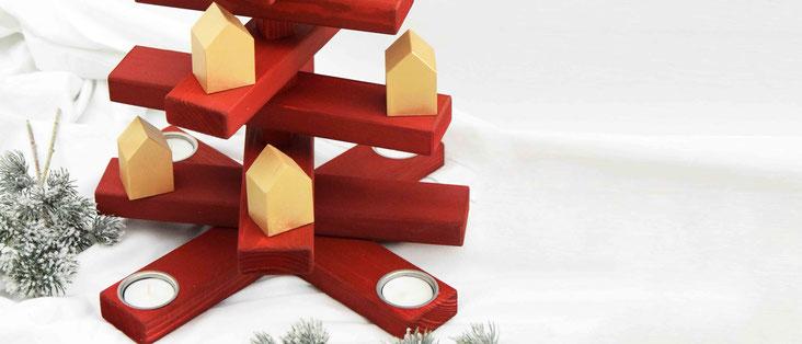 Weihnachtsbäumchen Holzbäumchen Zauberbaum vonHollstein.
