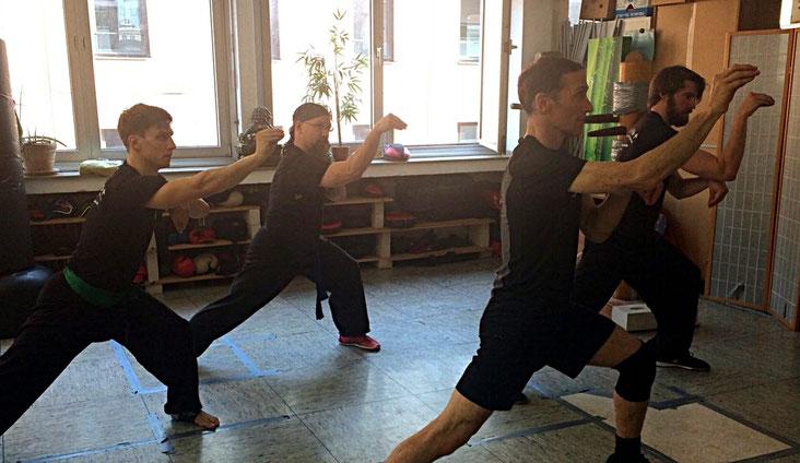 Hung Gar Kung Fu: Schlgtechnik mit dem Kranichschnabel