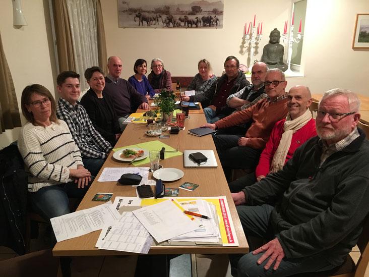 Die Kandidaten der Unabhängigen Liste für die Kommunalwahl 2019 in Östringen.