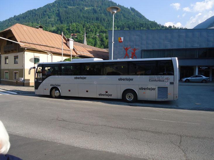 mit dem Reiseunternehmen R. Oberlojer ging's ab nach Kals in Osttirol