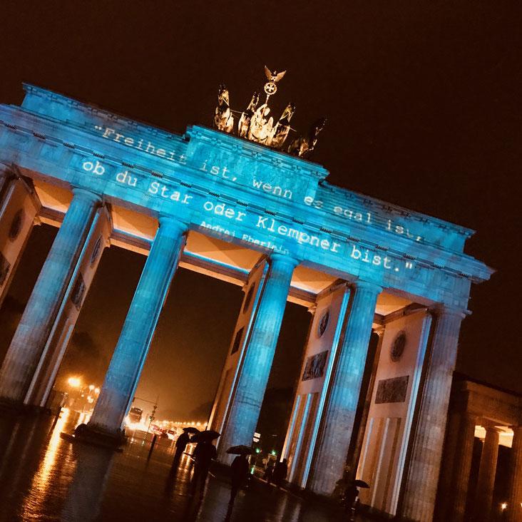 Brandenburger Tor Berlin, Festival of Lights Berlin, kamikatzedesign-berlin.de