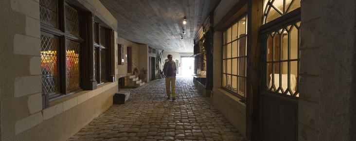 les repasseuses, le sellier, le cirier, Musée des Métiers