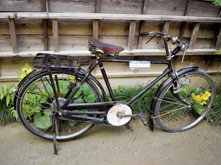 映画の中でお母さんのいる病院まで行くのに使っていた自転車