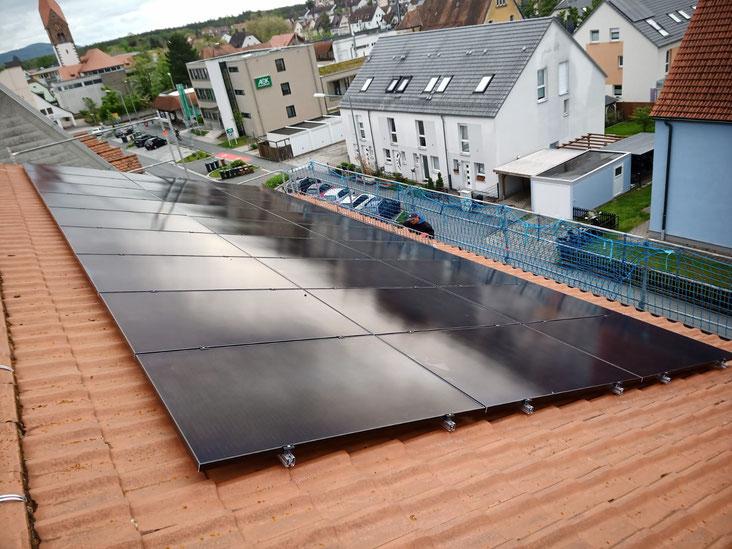 Photovoltaikanlage auf der Polizeiinspektion in Lauf a. d. Pegnitz © iKratos